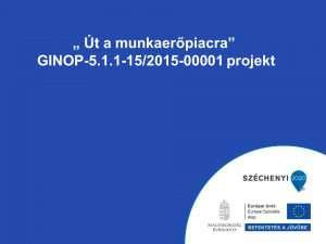 GINOP 5.1.1.